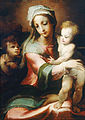 Domenico Beccafumi - Madonna and child with infant John the Baptist - Google Art Project.jpg