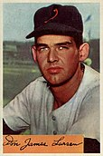 Don Larsen baseball card