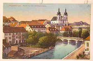Donaueschingen - Image: Donaueschingen um 1900