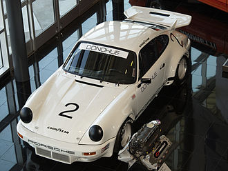 Mark Donohue - The Porsche Carrera RSR in which Donohue won the inaugural IROC championship