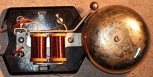 Electric bell - Older electric doorbell