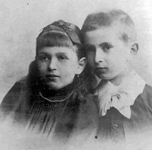 Dora (case study) - Ida Bauer (Dora) and her brother Otto.