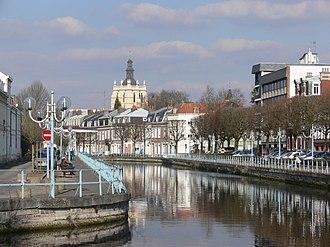 Scarpe (river) - The Scarpe at Douai