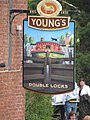 Double Locks pub sign - geograph.org.uk - 1286790.jpg