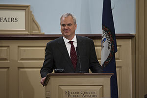 Douglas A. Blackmon - Blackmon at Miller Center in Charlottesville, Virginia on January 16, 2012