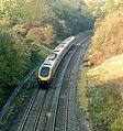 Down (westbound) 'Voyager' train in Harbury railway cutting - geograph.org.uk - 1550597.jpg