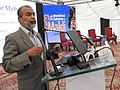Dr. Kaleemullah Lashari addresses in International Makli Conference.jpg