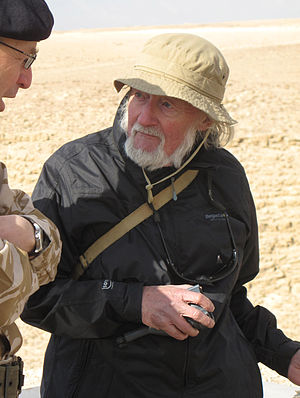 Sidney Alford - Explosives expert Dr. Sidney Alford speaking with General Richards the then head of the British Army at an explosive demonstration