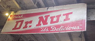 Dr. Nut A New Orleans based soft drink, which stopped production in the 1970s.
