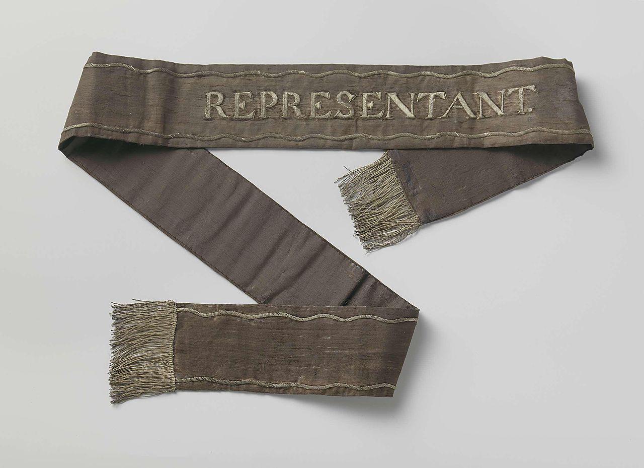 ... :Draaglint parlement Bataafse Republiek, circa 1798.jpg - Wikipedia