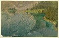 Drawing, Apline Lake, Bavaria or Switzerland, 1868 (CH 18196585).jpg