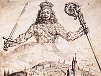 Drawing of frontispiece of Leviathan.jpg