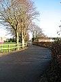Driveway into Wymondham College - geograph.org.uk - 1610968.jpg