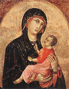 Duccio di Buoninsegna - Madonna and Child (no. 593) - WGA06706.jpg