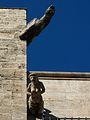 Dues gàrgoles de la catedral de València.JPG