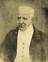 Daguerreotypie des Duke of Wellington von Antoine Claudet 1844 (Quelle: Wikimedia)