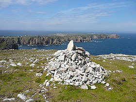 Dun Balair Fort, the highest point on Tory Island - geograph.org.uk - 1051226.jpg