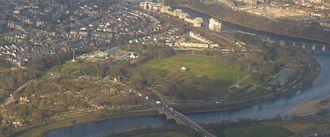 Duthie Park - Duthie Park from the Air