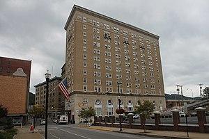 Bluefield şehir merkezinde West Virginian Hotel