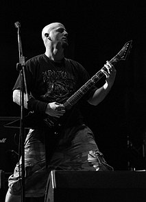 Dying Fetus, John Gallagher at Party.San Open Air 2013 05.jpg