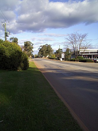 Great Northern Highway - View south from Bindoon
