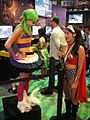 E3 2011 - Harley Quinn interviewed by Wonder Woman (Warner Bros) (5822677646).jpg