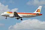 EC-LUL A320 Iberia (14600895260).jpg