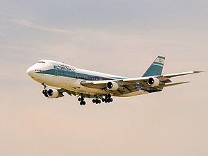 Hindawi affair - An El Al Boeing 747-200