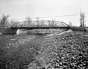 National Register of Historic Places listings in Uinta County, Wyoming - Image: ERT Bridge over Blacks Fork