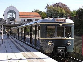 Aumühle station railway station in Schleswig-Holstein (Germany)