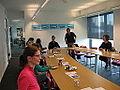 EYE Film Instituut Nederland - Voorlichting Wikipedia - 9 oktober 2014 - Wikipedians in special residence.JPG