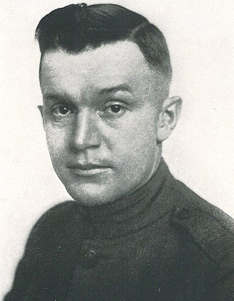 Earl A. Pritchard - Pritchard pictured in The Redskin 1919, OSU yearbook