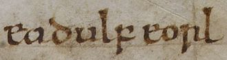 "Eadwulf III of Bamburgh - The name of Eadwulf given as ""Eadulf eorl"" in the Anglo-Saxon Chronicle."