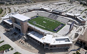 Allen, Texas - Allen High School's Eagle Stadium.