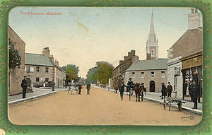 Malahide - The Diamond, Malahide early 20th Century