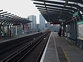 East India DLR stn look west.JPG