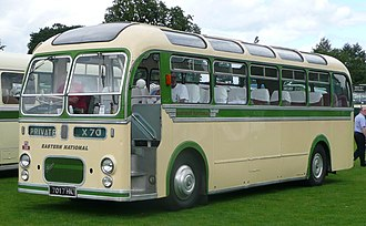 Eastern National Omnibus Company - Preserved Eastern Coach Works bodied Bristol MW6G in July 2008