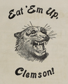 Eat 'Em Up, Clemson! (Clemsonian 1901).png