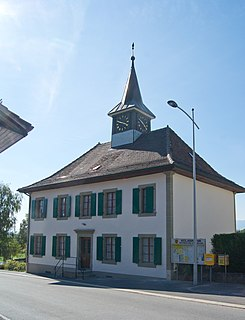 Former municipality of Switzerland in Vaud