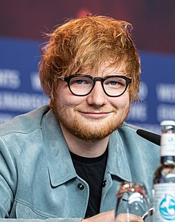 Ed Sheeran English singer, songwriter, record producer and actor