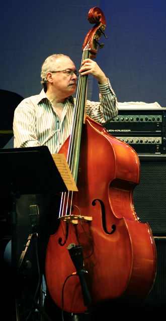 Eddie Gómez - Gómez on tour with Chick Corea, May 2010, Santiago, Chile