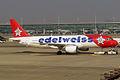 Edelweiss Air, HB-IJV, Airbus A320-214 (16270447749).jpg