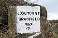 Edgemount Village Boundary Marker Stone - geograph.org.uk - 711343.jpg
