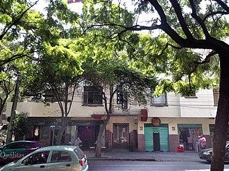 Edificio México - Front view from Avenida México