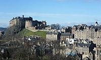 Edinburgh Castle from the south east.JPG