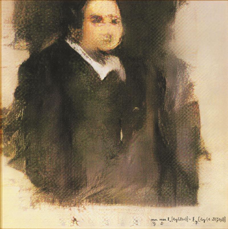 Portrait d' Edmond de Belamy