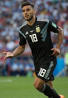 Eduardo Salvio Argentine footballer