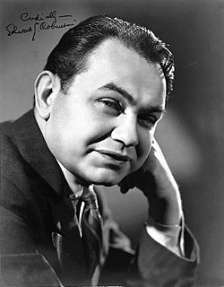 Edward G. Robinson Romanian American actor