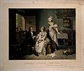 Edward Jenner, vaccinating his young child, held by Mrs Jenn Wellcome V0006848.jpg