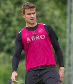 Eero Markkanen (training 2016, 1, cropped).jpg